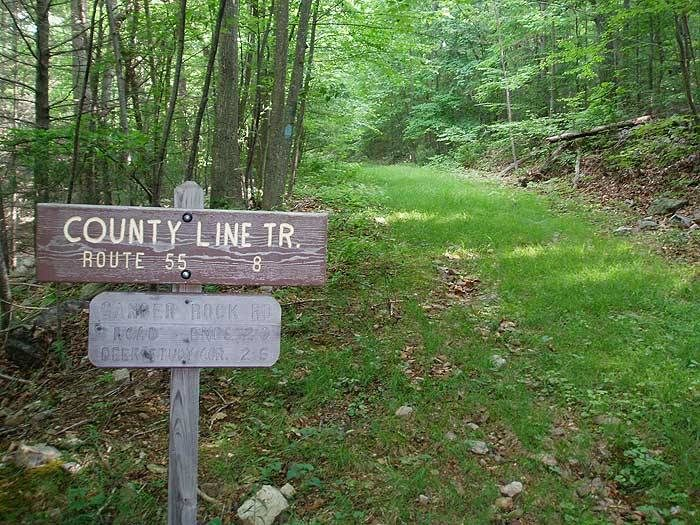 2. County Line Trail, 4 miles