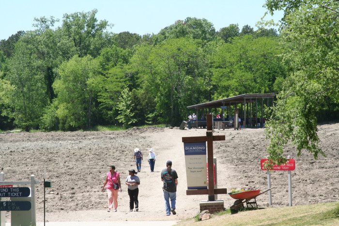3. Crater of Diamonds State Park