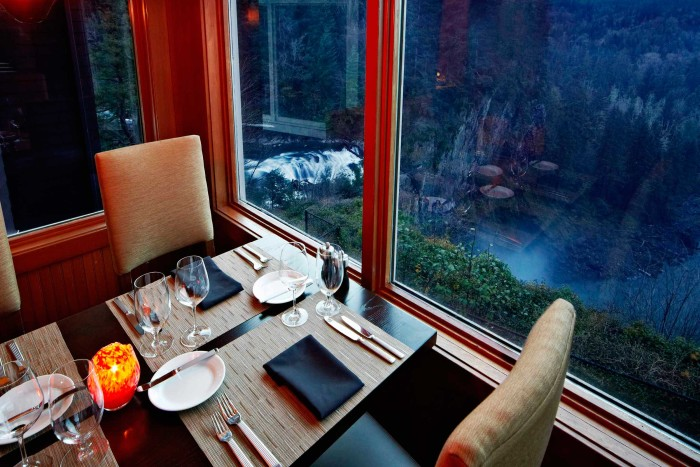 5. The Dining Room at Salish Lodge, Snoqualmie
