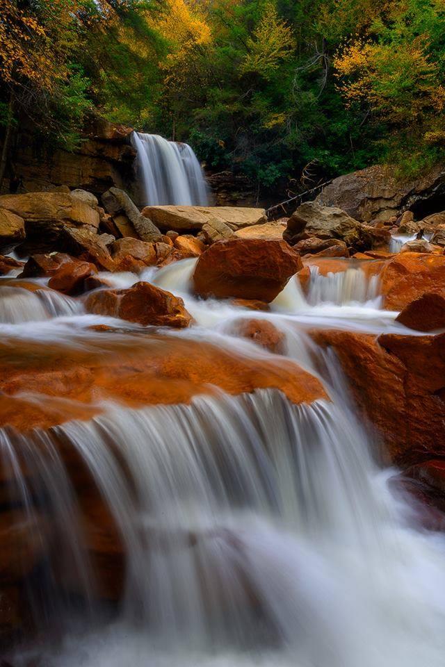 7. Douglas Falls, Tucker County