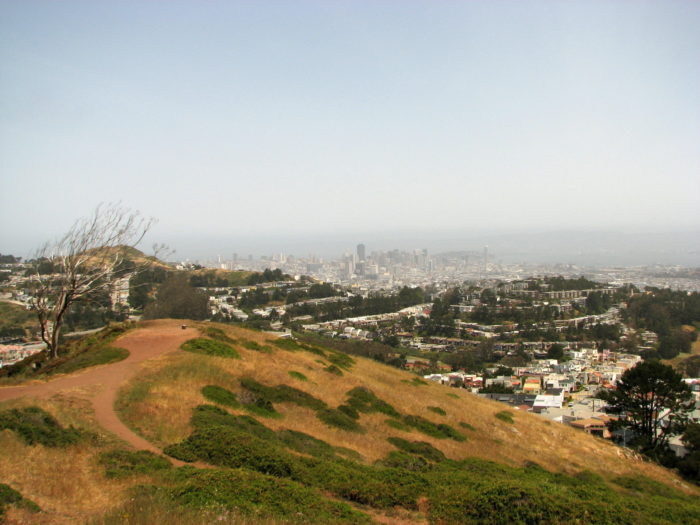 11. Leave the tourists to Twin Peaks, and climb the city's highest peak at Mt. Davidson.