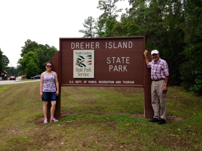 12. Take a break from water activities on Lake Murray at Dreher Island State Park and go take a hike.