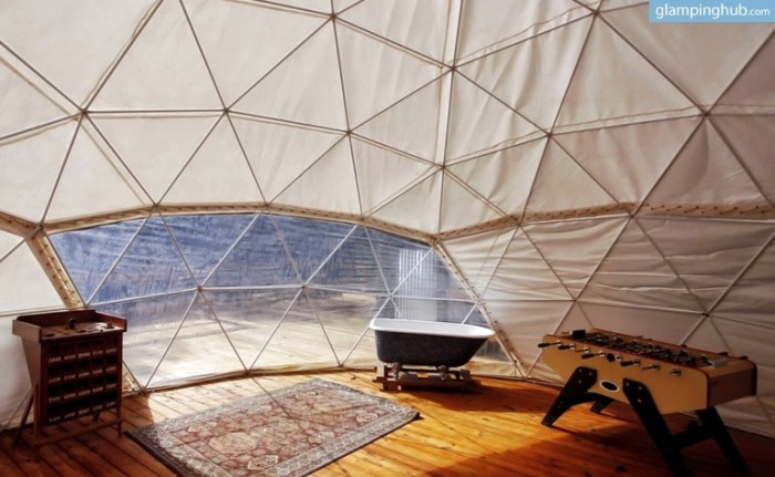 8. Ellijay, Georgia: Glamping Dome in the Appalachian Mountains