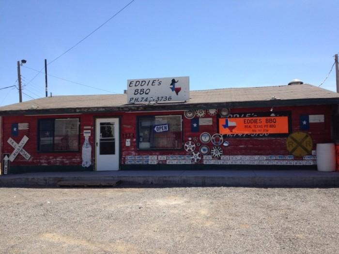 7. Eddie's Barbecue (Lubbock)