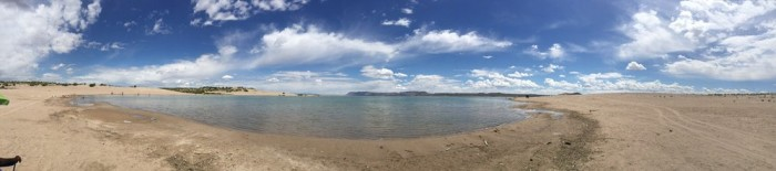 elephant butte-panorama
