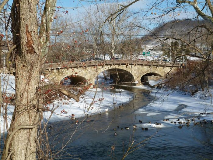 8. Elm Grove Arch Bridge, Wheeling