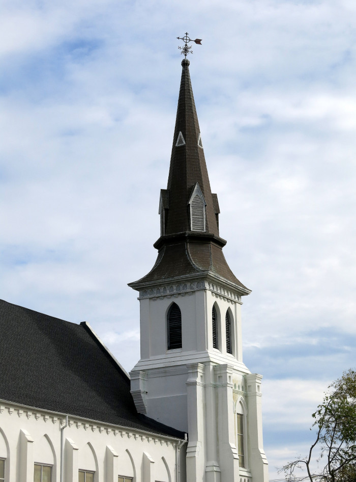 12. The Emanuel AME Church in Charleston.