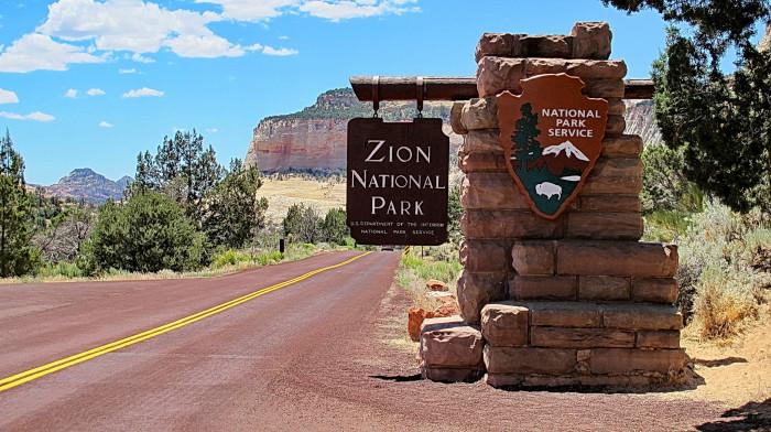 2. Zion National Park was established on November 19, 1919.