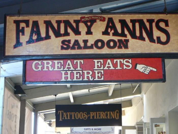 3. Fanny Ann's, Downtown Sacramento
