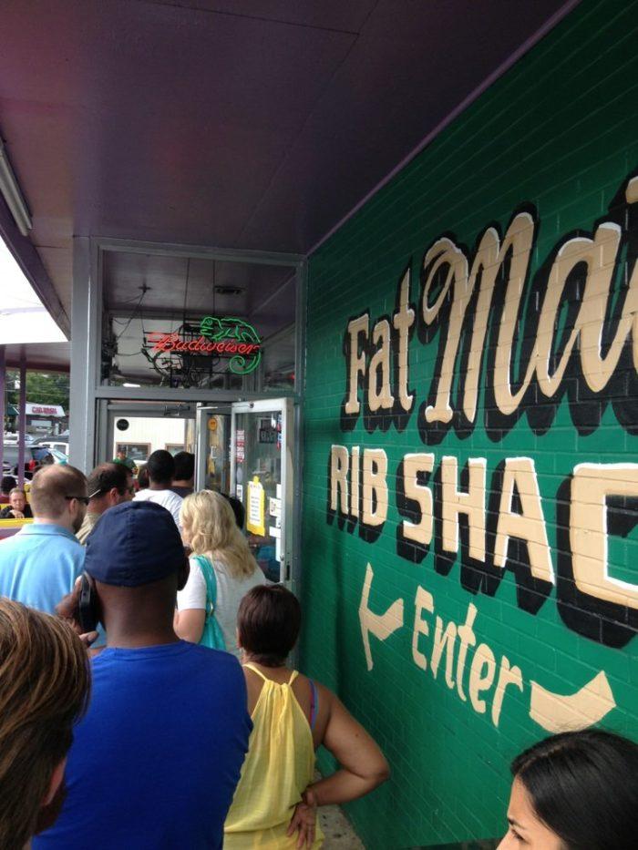 7. Fat Matt's Rib Shack—1811 Piedmont Rd NE, Atlanta, GA 30324
