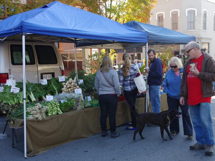 7.  Fayetteville Farmers Market