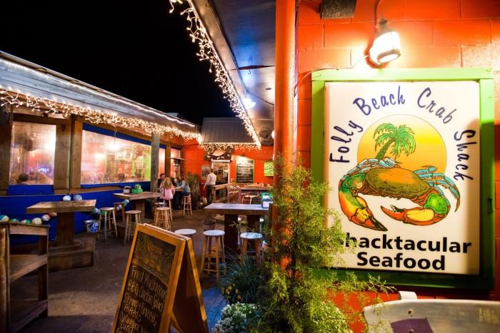 10. Folly Beach Crab Shack on Folly Beach (26 Center St)