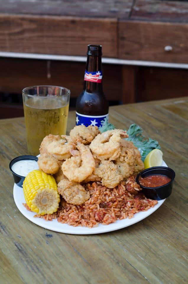 folly beach crab shack fried seafood platter