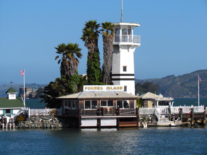 1. Forbes Island, San Francisco