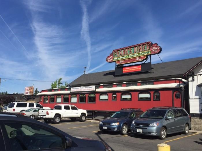 2. Frank's Diner, Spokane