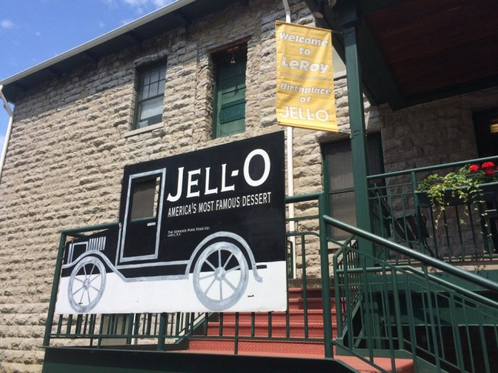 6. Jell-O Gallery, Le Roy