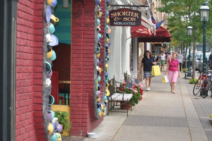 3. The town's Gaslamp Shopping District still maintains the same charm it did when the icon strolled the streets.