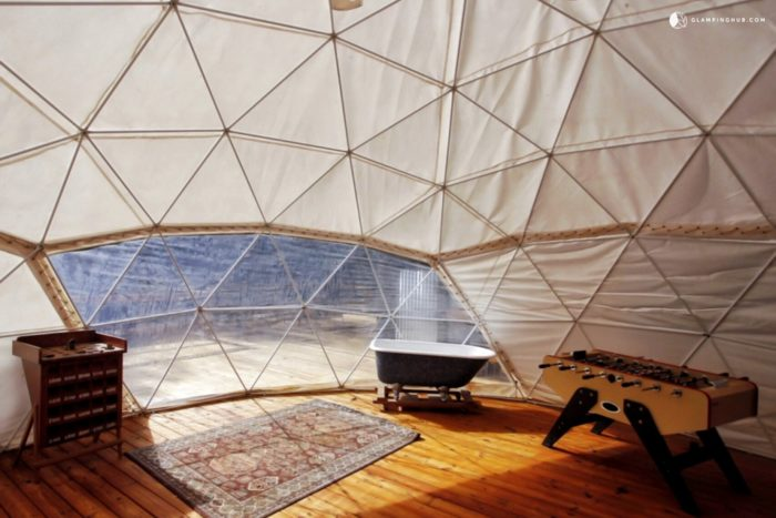 8. Luxury Geodesic Dome in Appalachian Mountains, Georgia