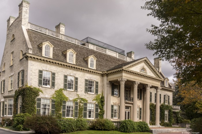 2. In George Eastman's passing, he explained that he hoped the mansion could serve as the residence for the University of Rochester's president.