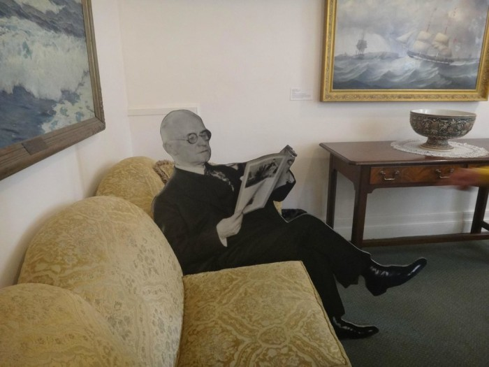 11. You can even conclude your trip to the museum by taking a seat with George Eastman!