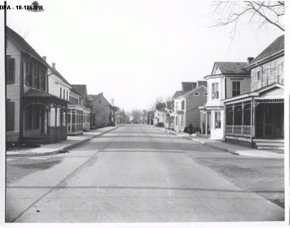 14. This photograph was taken looking down a street in Georgetown, which has been the county seat of Sussex since 1791.