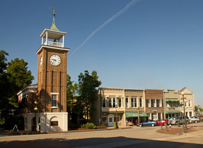 4. Georgetown, SC - officially the state's 3rd oldest city