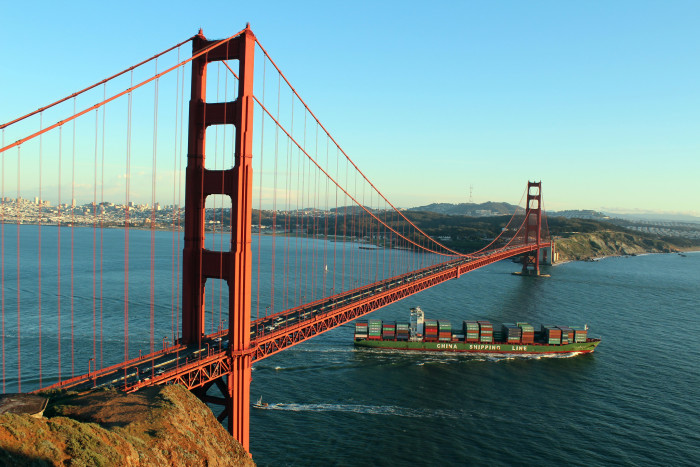 3. The Golden Gate Bridge