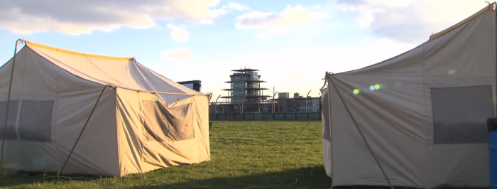 glamping indy 500