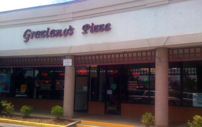 1. Graziano's Pizza, South Charleston