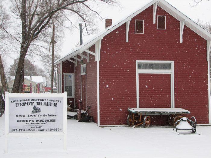 5. Greenwood Depot Museum, Greenwood