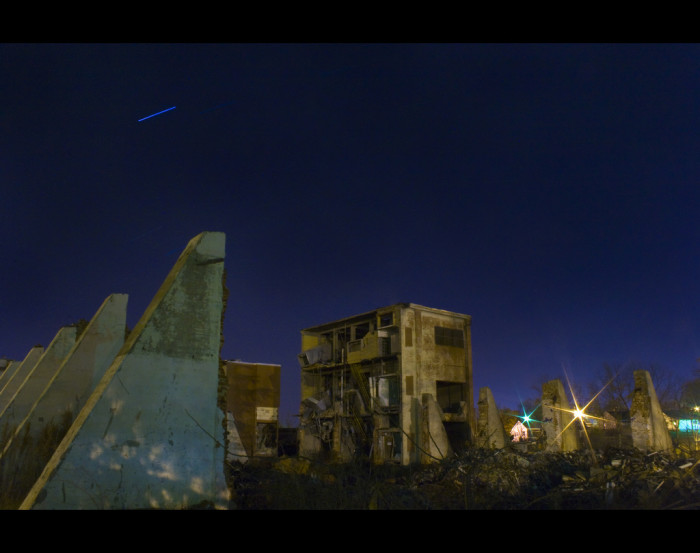 6. These ruins near Greer are an eerily beautiful sight as photographed in 2008.