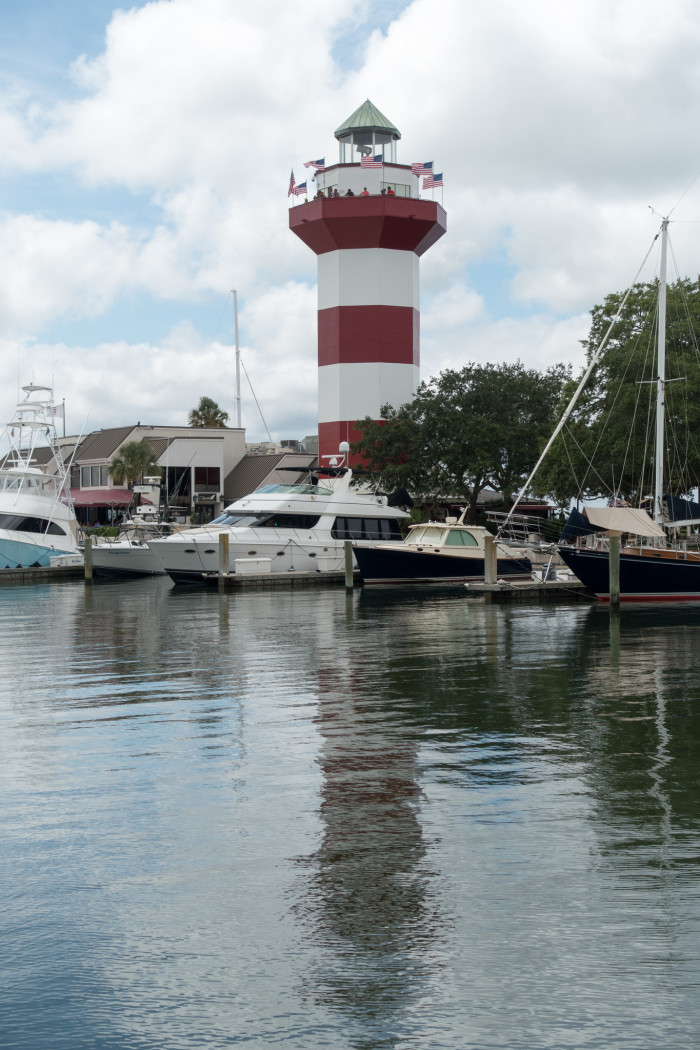 7. Harbourtown Lighthouse in Hilton Head, SC.