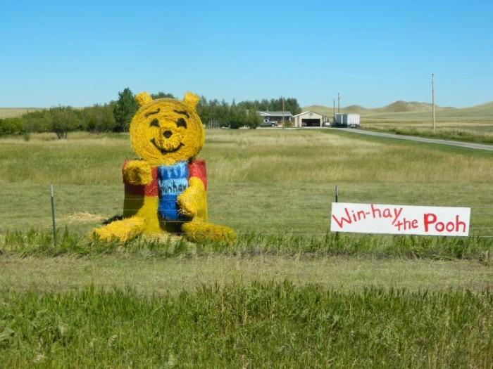 8. What the Hay (Hay Sculpting Contest), Utica