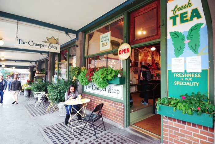 9. The Crumpet Shop, Seattle (Pike Place Market)