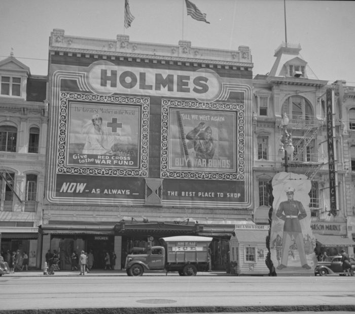 7) Holmes, Canal St., 1943