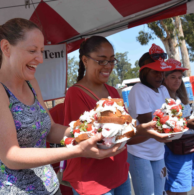 8 of the best food festivals in southern california for Strawberry festival garden grove