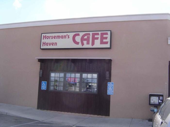 3. Horseman's Haven Café,   4354 Cerrillos Road, Santa Fe