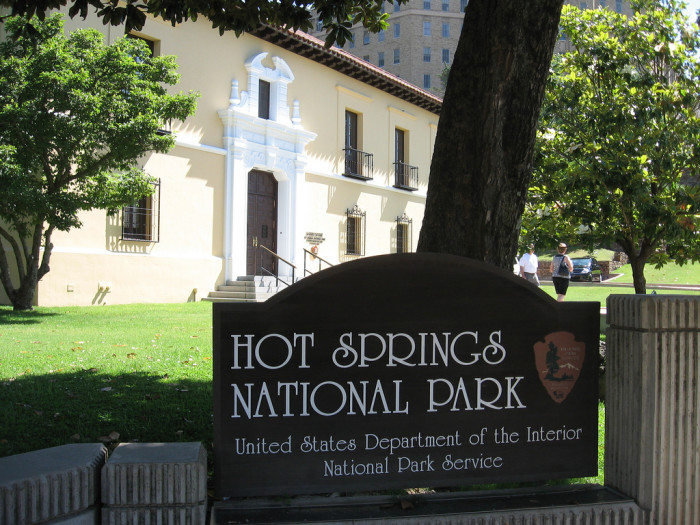 6. Hot Springs National Park