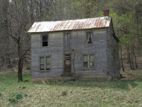10. Abandoned Home In Wayne County