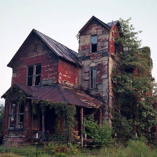 2. Long Abandoned House That Sits On The Banks Of The Elk River