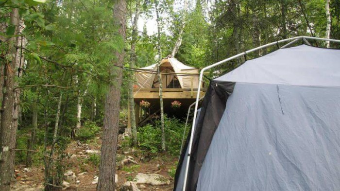 Hidden away on a private island in Ely'€™s White Iron Lake, you'll find these stunning campsites.