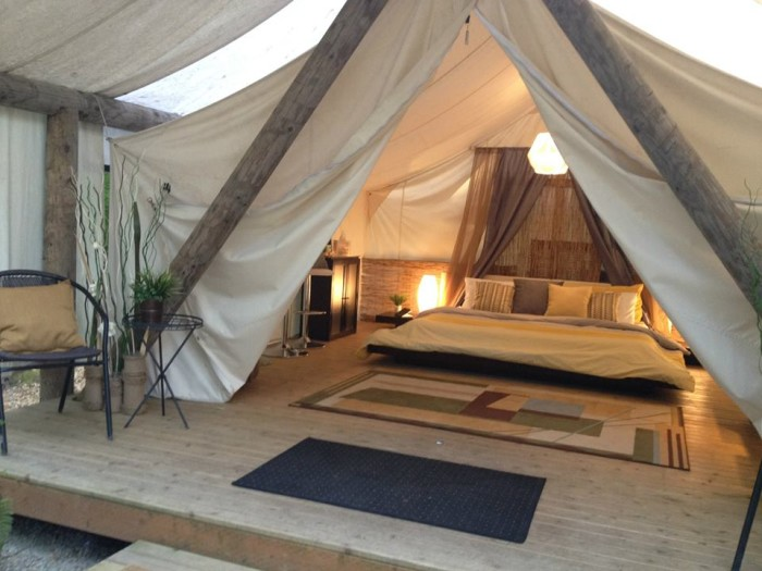 1. Pampered Wilderness, Olympia area