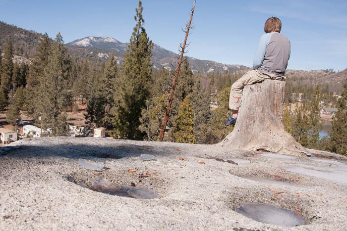 7. Indian Grinding Rock, Pine Grove