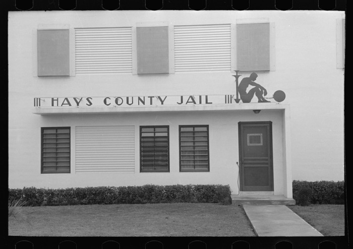 5. Jails smaller than one-room schoolhouses.