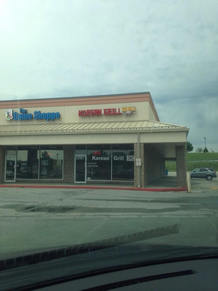 8. Korean Grill, Bellevue