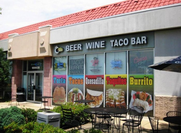 3. Taco Bar, Gaithersburg