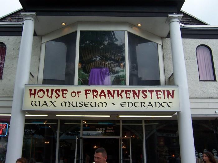 8. House of Frankenstein Wax Museum, Lake George