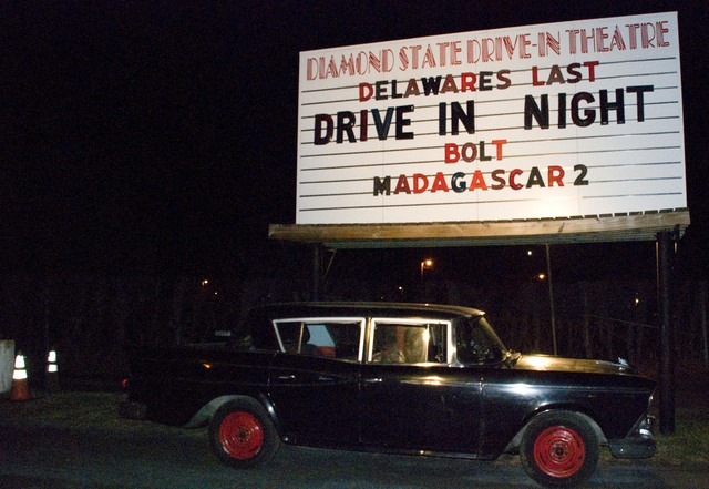 4. Go to a drive-in movie