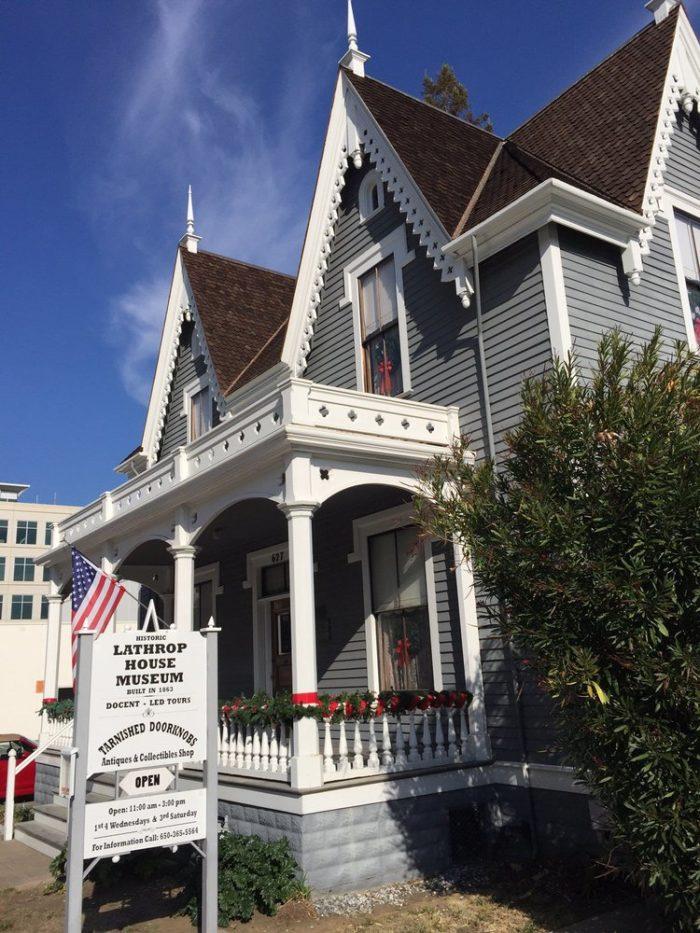 12. Lathrop House,  Redwood City