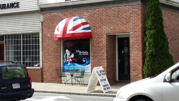 2.  Lil' Britain - 116 North Main St., Bennington